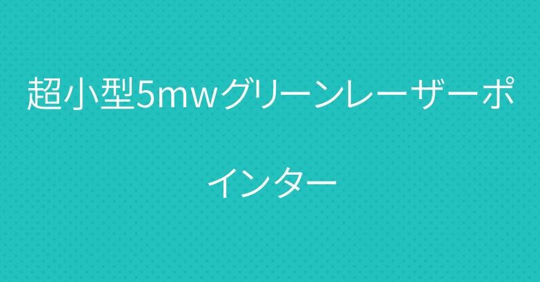 超小型5mwグリーンレーザーポインター