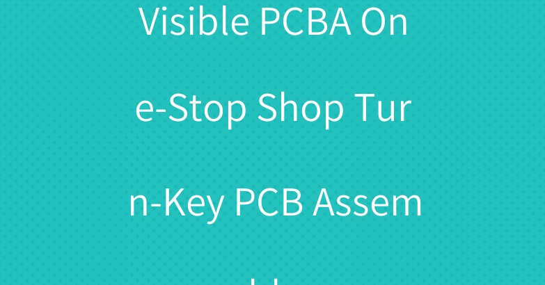 Visible PCBA One-Stop Shop Turn-Key PCB Assembly