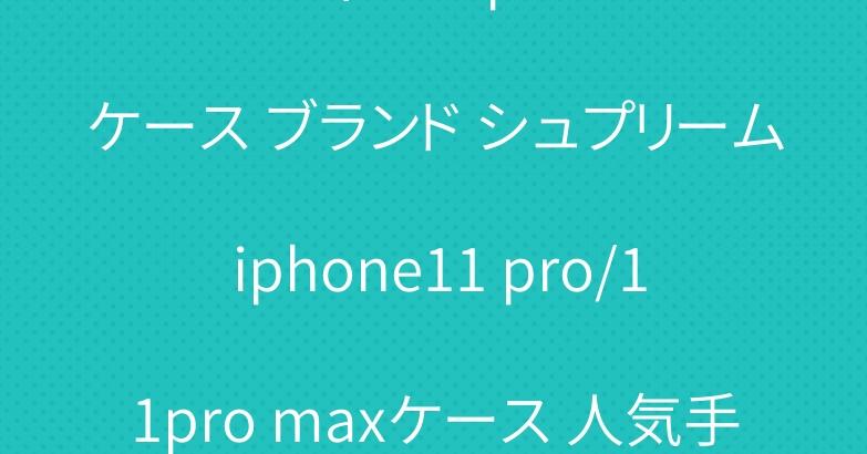 ルイヴィトン iphone11ケース ブランド シュプリーム iphone11 pro/11pro maxケース 人気手帳型
