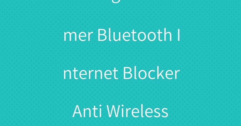WiFi Signal Jammer Bluetooth Internet Blocker Anti Wireless Jamming
