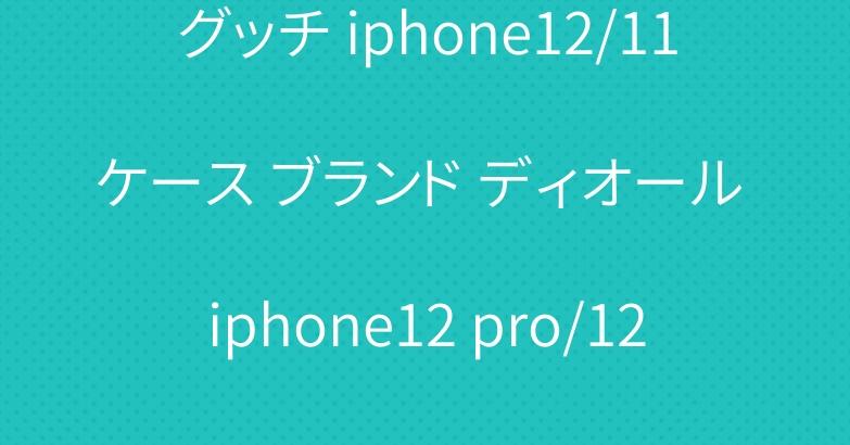 グッチ iphone12/11ケース ブランド ディオール iphone12 pro/12 pro max手帳型カバー