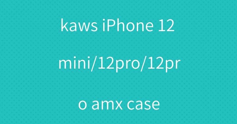 kaws iPhone 12 mini/12pro/12pro amx case