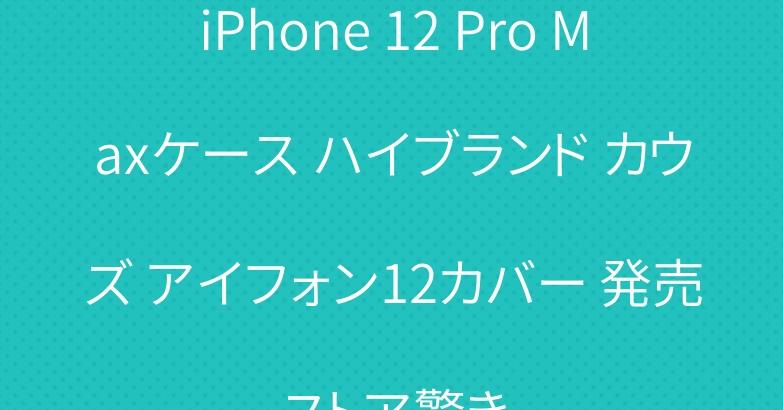 iPhone 12 Pro Maxケース ハイブランド カウズ アイフォン12カバー 発売ストア驚き