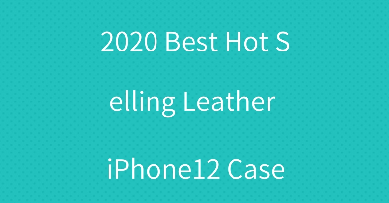 2020 Best Hot Selling Leather iPhone12 Case