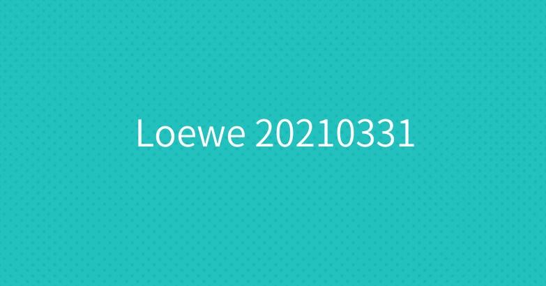 Loewe 20210331