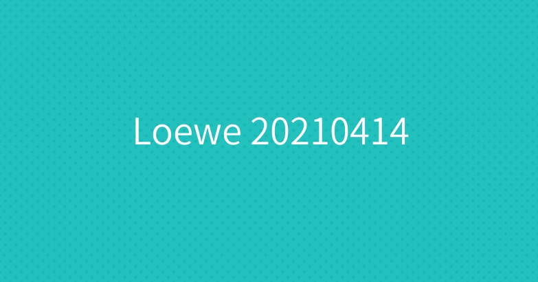 Loewe 20210414