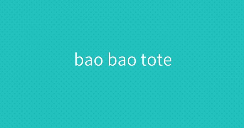 bao bao tote