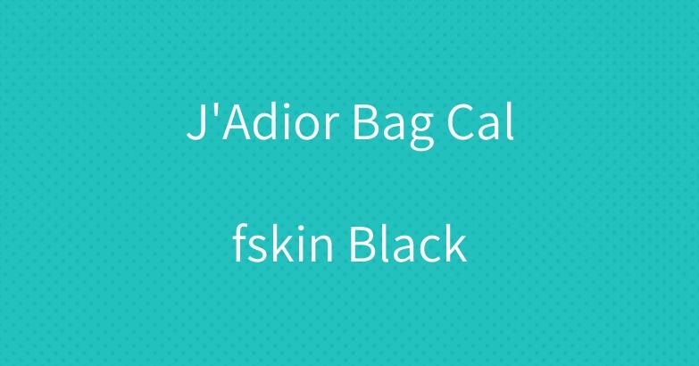 J'Adior Bag Calfskin Black