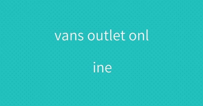 vans outlet online