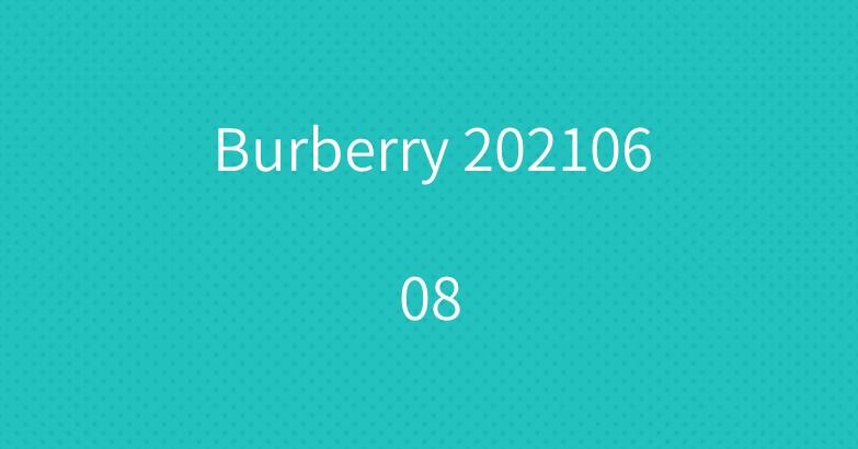 Burberry 20210608