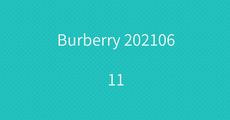 Burberry 20210611
