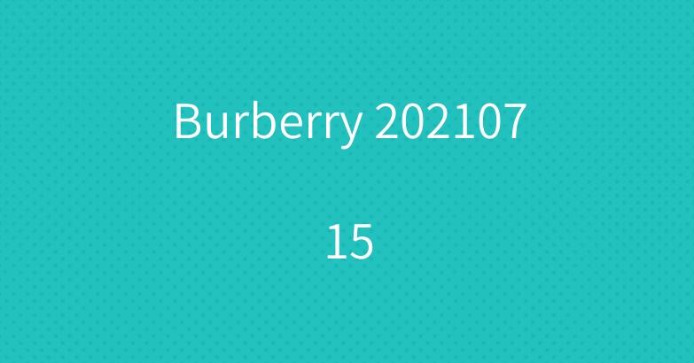 Burberry 20210715