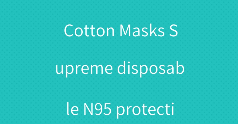 Brand Nike Face Cotton Masks Supreme disposable N95 protective mask